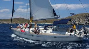 Sailing-Mykonos-Semi-Private Sailing yacht tour from Mykonos to Rhenia and Delos-7