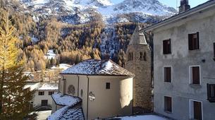 Snowshoeing-Chamonix Mont-Blanc-Snowshoeing excursion in Saint-Gervais Mont Blanc-8