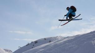 Freestyle Skiing-Font Romeu-Demi-journée Cours Privé de Ski Freestyle à Font Romeu-1