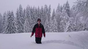 Snowshoeing-Chamonix Mont-Blanc-Snowshoeing excursion in Saint-Gervais Mont Blanc-5