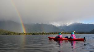 Kayaking-Franz Josef Glacier-Kayaking excursion on Lake Mapourika near Franz Josef Glacier-5