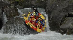 Rafting-Rotorua-Rafting down the Wairoa River near Rotorua-1