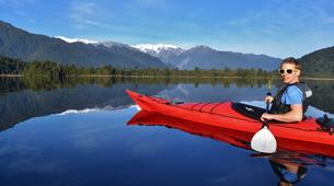 Kayaking-Franz Josef Glacier-Guided kayak and hike excursion to Okarito Kiwi Sanctuary, near Franz Josef Glacier-6