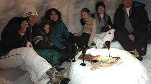 Raquette à Neige-Megève, Evasion Mont Blanc-Randonnée Nocturne Raquettes à Neige à Megève-4