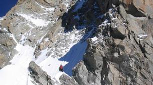 Rock climbing-Courmayeur-Rock climbing Dent du Geant on the Mont Blanc Massif-4