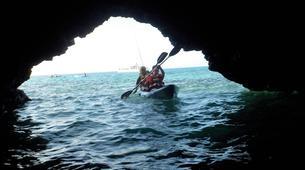 Sea Kayaking-Playa Blanca, Lanzarote-Sea kayaking excursions to Playa Papagayo-3