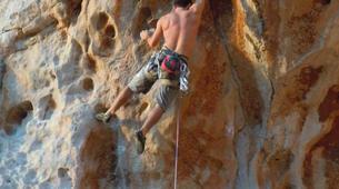 Rock climbing-Cefalù-Rock climbing in Madonie National Park near Cefalu, Sicily-3
