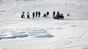 Snowmobiling-Aneto-Snowmobile and snowshoeing excursion in Vall de Boí, The Catalan Pyrenees-3