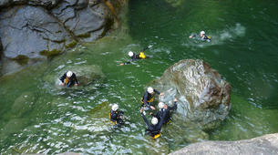 Canyoning-Turin-Rio Sessi canyon in the Susa Valley, near Turin-6