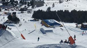 Freestyle Skiing-Font Romeu-Demi-journée Cours Privé de Ski Freestyle à Font Romeu-4