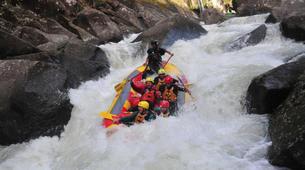 Rafting-Rotorua-Rafting down the Wairoa River near Rotorua-3