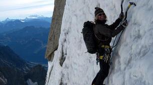 Rock climbing-Courmayeur-Rock climbing Dent du Geant on the Mont Blanc Massif-2