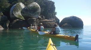 Sea Kayaking-Abel Tasman National Park-Half Day Sea kayaking excursion to 'Split Apple' from Kaiteriteri-4
