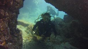 Plongée sous-marine-El Médano, Tenerife-SNSI Open Water Course in Los Abrigos near El Medano-2