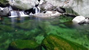Canyoning-Aosta Valley-Chalamy Creek canyon near Champdepraz, Aosta Valley-5