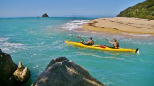 Sea Kayaking-Abel Tasman National Park-Half Day Sea kayaking excursion to 'Split Apple' from Kaiteriteri-1