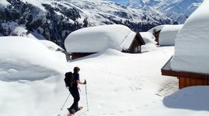 Snowshoeing-Chamonix Mont-Blanc-Snowshoeing excursion in Saint-Gervais Mont Blanc-6