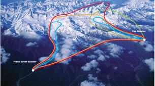 Helicoptère-Glacier Fox-Fox Glacier heli flight to Mount Cook-6
