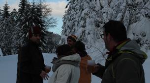 Snowshoeing-Vosges-Night snowshoeing excursion to the Donon, Vosges-1