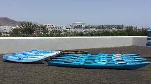 Sea Kayaking-Playa Blanca, Lanzarote-Sea kayaking excursions to Playa Papagayo-4