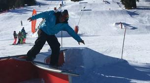 Freestyle snowboarding-Font Romeu-Half-day freestyle snowboarding private course in Font Romeu-3