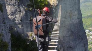 Via Ferrata-Gorges du Tarn-Via ferrata of Florac in the Cevennes National Park-3