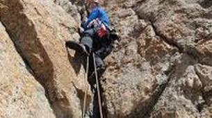 Rock climbing-Courmayeur-Rock climbing Dent du Geant on the Mont Blanc Massif-6