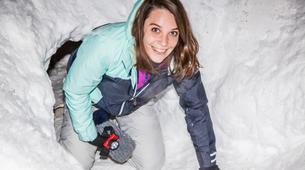 Raquette à Neige-Megève, Evasion Mont Blanc-Randonnée Nocturne Raquettes à Neige à Megève-5