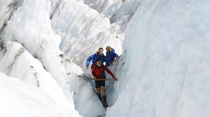 Helicopter tours-Franz Josef Glacier-Glacier Heli Hike in Franz Josef Glacier + Hot Pools Entry-5