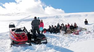 Snowmobiling-Aneto-Snowmobile and snowshoeing excursion in Vall de Boí, The Catalan Pyrenees-1