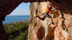 Rock climbing-Cefalù-Rock climbing in Madonie National Park near Cefalu, Sicily-1