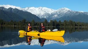 Kayaking-Franz Josef Glacier-Guided kayak and hike excursion to Okarito Kiwi Sanctuary, near Franz Josef Glacier-2