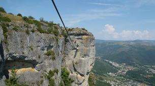 Via Ferrata-Gorges du Tarn-Via ferrata of Florac in the Cevennes National Park-2