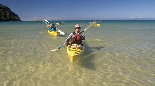 Sea Kayaking-Abel Tasman National Park-Half Day Sea kayaking excursion to 'Split Apple' from Kaiteriteri-2