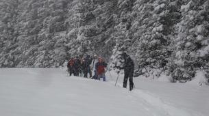 Snowshoeing-Chamonix Mont-Blanc-Snowshoeing excursion in Saint-Gervais Mont Blanc-2