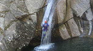 Canyoning-Turin-Rio Sessi canyon in the Susa Valley, near Turin-5
