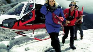Helicopter tours-Franz Josef Glacier-Glacier Heli Hike in Franz Josef Glacier + Hot Pools Entry-3