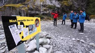 Hiking / Trekking-Franz Josef Glacier-Glacier Valley Hike in the Waiho River near Franz Josef Glacier-1