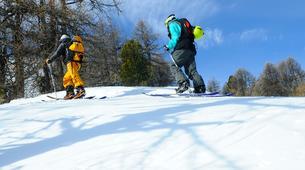 Ski touring-Risoul, La Forêt Blanche-Splitboard and ski touring day trip in Risoul - La Forêt Blanche-2