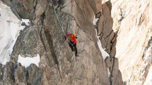 Rock climbing-Courmayeur-Rock climbing Dent du Geant on the Mont Blanc Massif-1