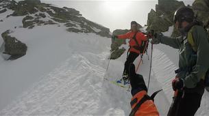 Ski touring-Risoul, La Forêt Blanche-Splitboard and ski touring day trip in Risoul - La Forêt Blanche-4