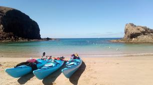 Sea Kayaking-Playa Blanca, Lanzarote-Sea kayaking excursions to Playa Papagayo-8