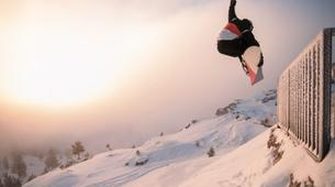 Freestyle snowboarding-Font Romeu-Half-day freestyle snowboarding private course in Font Romeu-1