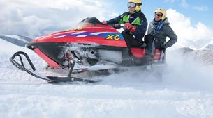 Snowmobiling-Aneto-Snowmobile and snowshoeing excursion in Vall de Boí, The Catalan Pyrenees-4