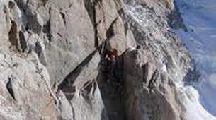 Rock climbing-Courmayeur-Rock climbing Dent du Geant on the Mont Blanc Massif-5