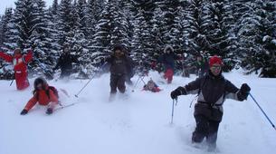 Snowshoeing-Chamonix Mont-Blanc-Snowshoeing excursion in Saint-Gervais Mont Blanc-3