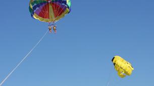 Parasailing-Heraklion-Parasailing flight in Ammoudara, Heraklion-4