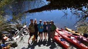 Kayaking-Franz Josef Glacier-Kayaking excursion on Lake Mapourika near Franz Josef Glacier-6