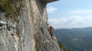Via Ferrata-Gorges du Tarn-Via ferrata of Florac in the Cevennes National Park-5
