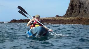 Sea Kayaking-Playa Blanca, Lanzarote-Sea kayaking excursions to Playa Papagayo-1